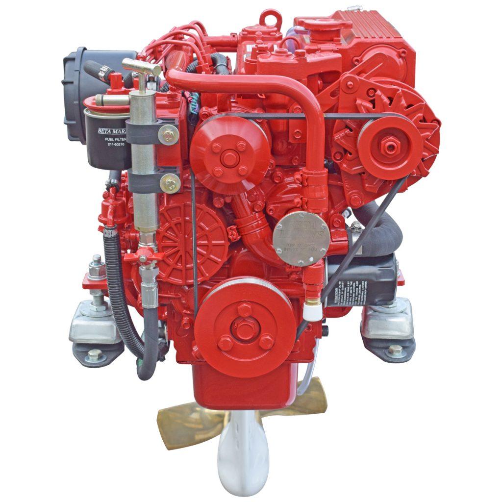 Beta Marine Heat Exchanger Cooled Marine Propulsion Saildrive Engines from 14 to 56 bhp