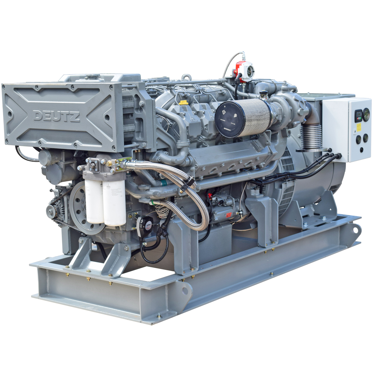 Beta Marine Bespoke Marine Generating Sets Baudouin, Deutz, Cummins, Perkins, Scania or Volvo Based Marine Generating Sets from 28 to 1,150 kVA. Available to class