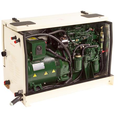 Beta Marine Kubota Based Marine Generating Sets from 4 to 58 kVA