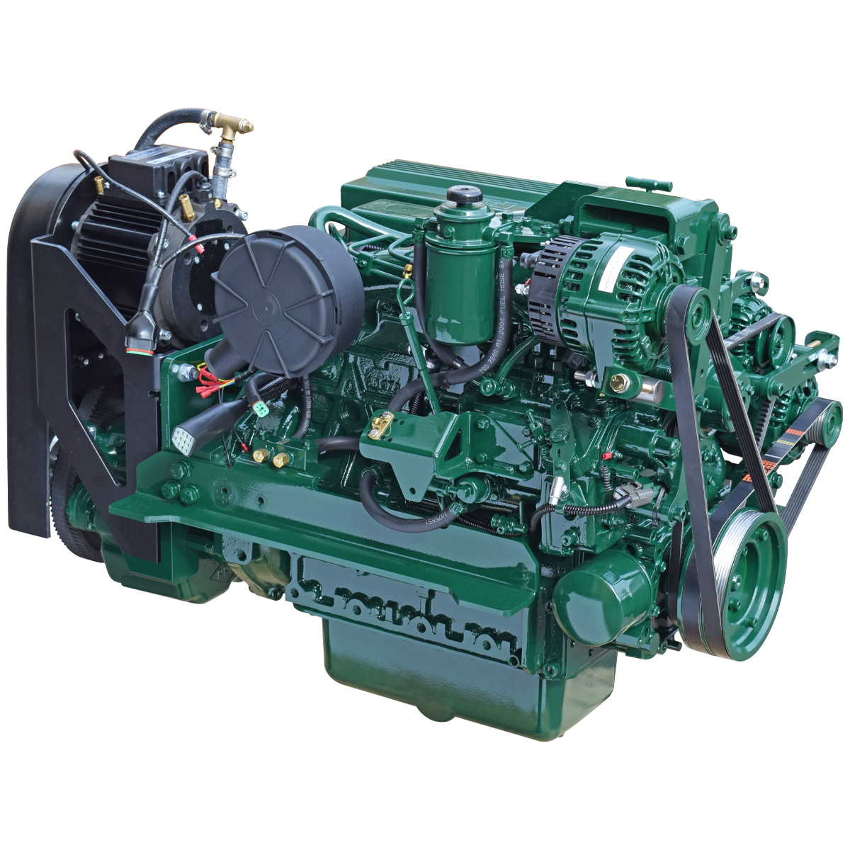 Keel Cooled Hybrid Propulsion Marine Propulsion Engines Beta Marine
