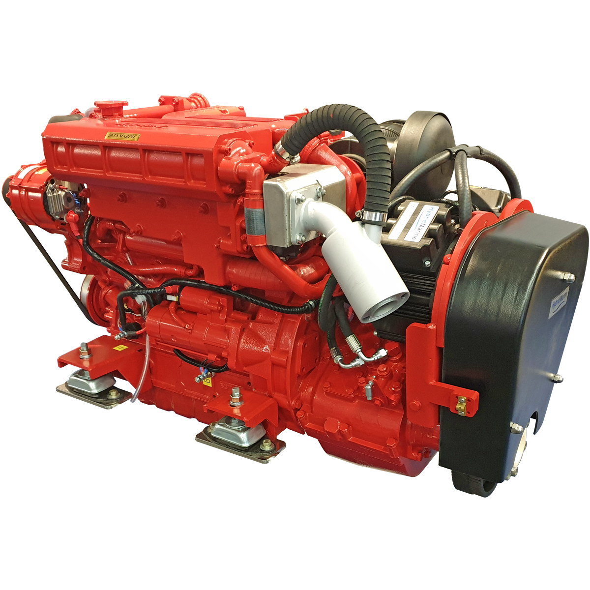 Heat Exchanger Hybrid Propulsion Marine Propulsion Engines Beta Marine